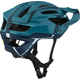 Troy Lee Designs A2 MIPS Helm sliver marine